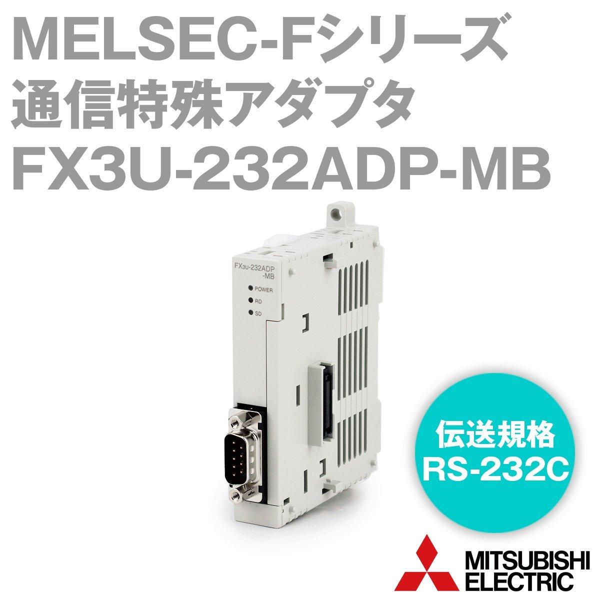 三菱電機 FX3U-232ADP-MB FXシリーズシーケンサ 通信特殊アダプタ NN B00FJNC8ZI