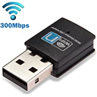 SAG Mini USB 300Mbps WiFi Wireless Lan Network Internet Adapter 802.11n/g/b