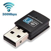 SAG Mini USB 300Mbps WiFi Wireless Lan Network Internet Adapter 802.11n/g/b