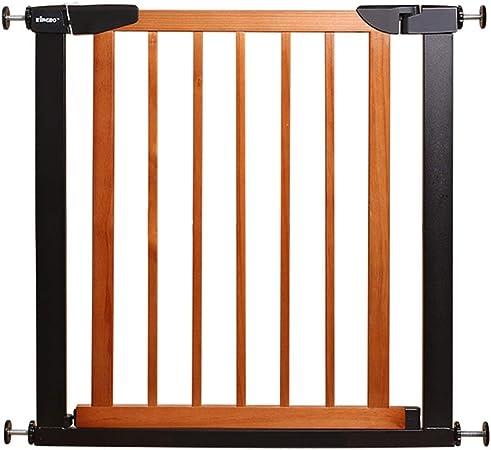 Barandillas para camas LHA Adecuado for la presión de la Puerta/Escalera de Seguridad Infantil, fácil de Abrir y Cerrar automáticamente, Ancho de 75 a 131 cm (Size : 124-131cm): Amazon.es: Hogar