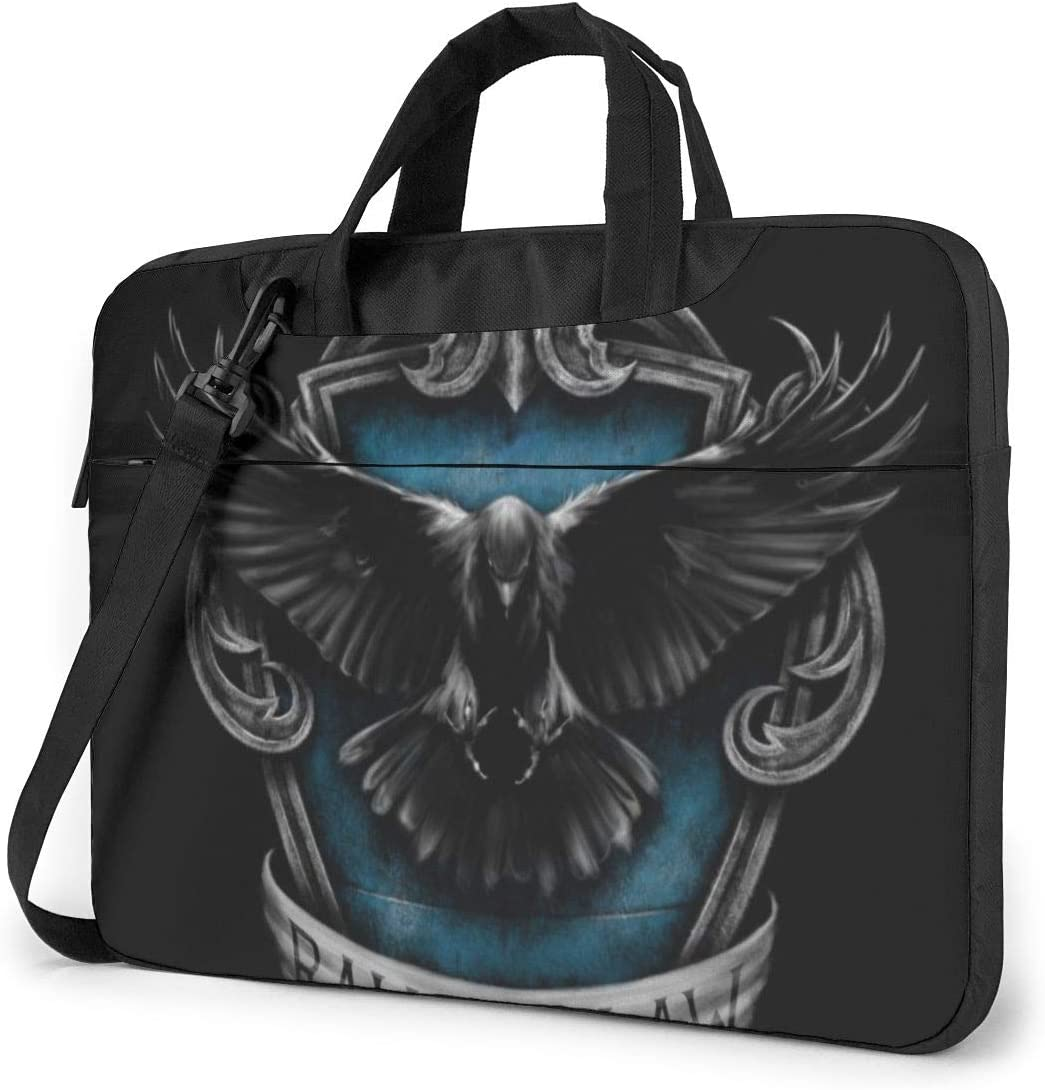Zxh Hogw-Arts Ra-Ven-Claw College Shoulder Shockproof Laptop Bag Laptop Sleeve Case Ultra-Slim Laptop Computer Pouch Bag 13/14/15.6 Inch