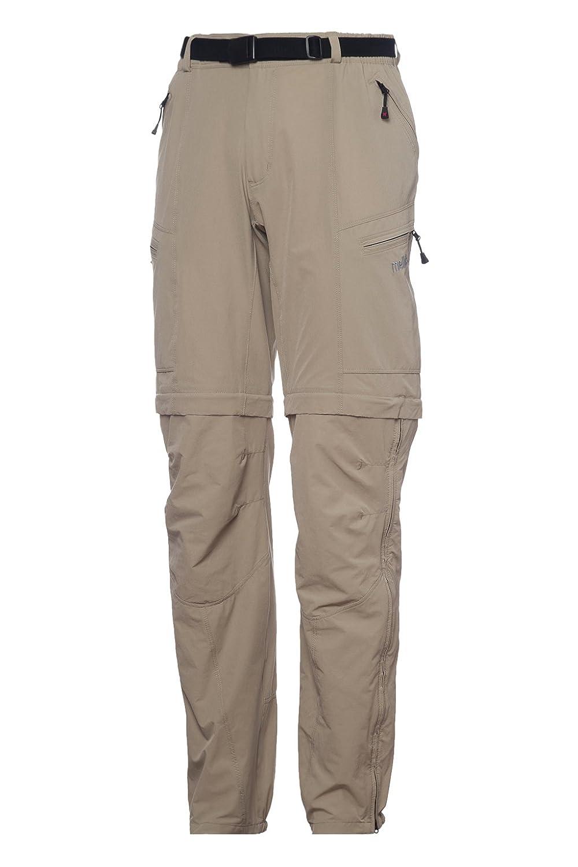 Mello's Meriggio ZipOff-Hose, Hose Stretch geeignet für Trekking Mountain Wandern