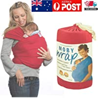 Boby Moby Wrap Infant Baby Adjustable Carrier Sling Newborn Comfort AU Stock