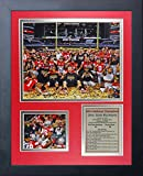national championship football - Legends Never Die NCAA Ohio State Buckeyes Framed Photo Collage (2014 CFP Football National Champions), Celebration 1, 11 x 14-Inch