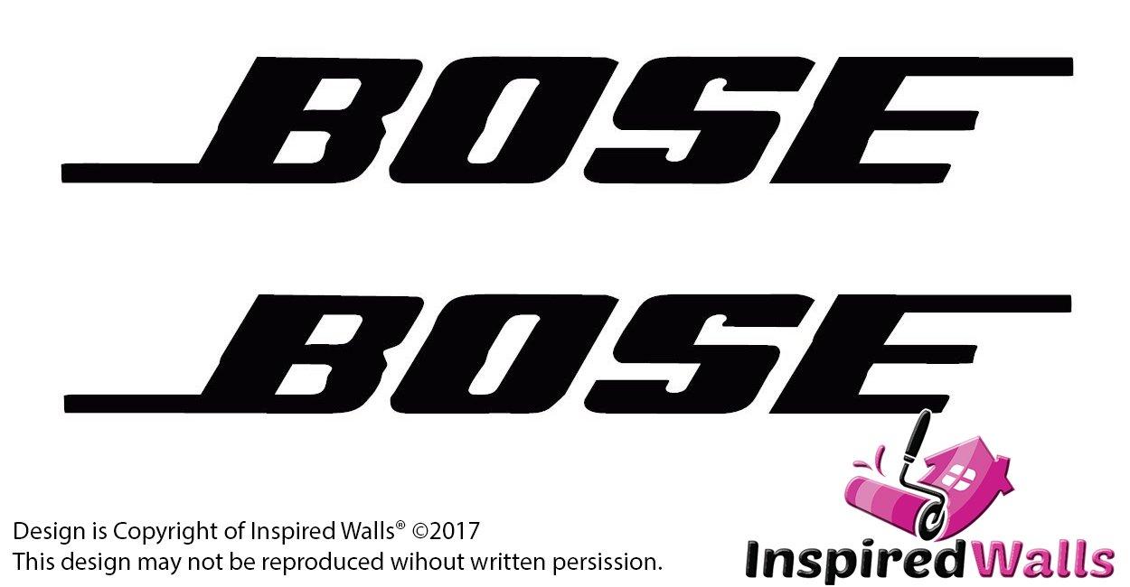 Two Bose Symbol Gracioso Parachoque, Coche Van Bicicleta Pegatina Calcomanía Inspired Walls®: Amazon.es: Coche y moto