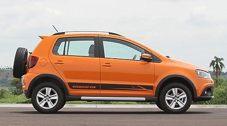 Amazon Com Vw Volkswagen Crossfox Side Decal Set 2pcs Black