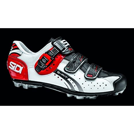 Zapatillas Sidi MTB Eagle 5 Fit White/Black/Red gr. 42