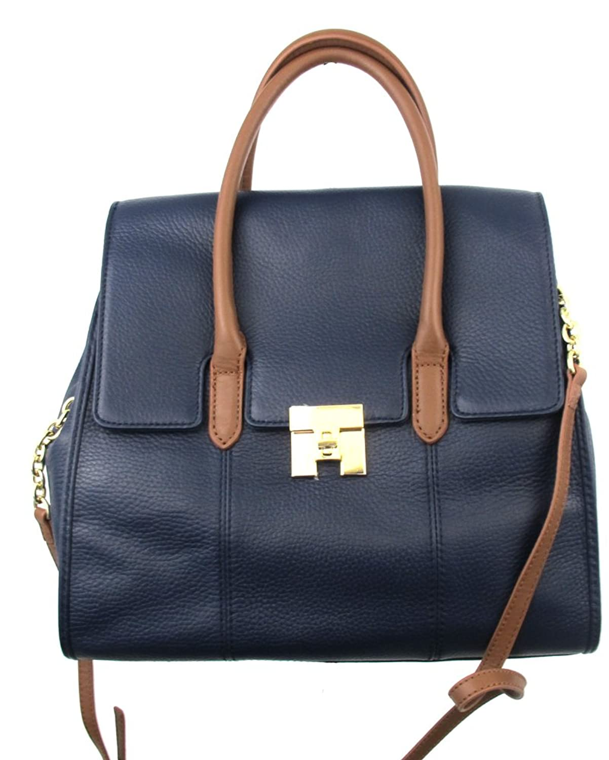 Tommy Hilfiger Top Handle Satchel in Blue