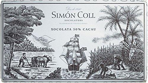 Simon Coll Chocolate extrafino / Zartbitter-Kochschokolade mit 50% Kakao 200 gr.