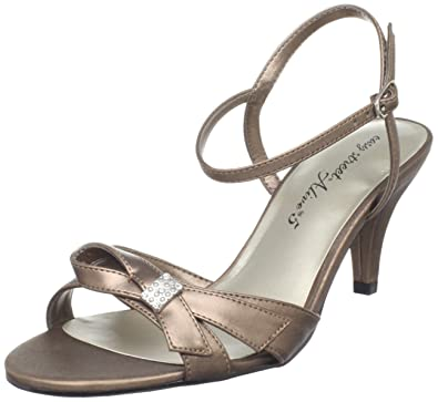 Easy Street Women's Starlet Sandal Bronze 10 ...
