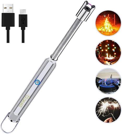 Stabfeuerzeug Lichtbogen Feuerzeug Kerzenanzünder Lang Elektronische Lighter