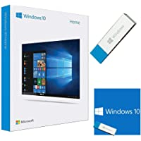 Windows 10 Home 64 Bit / 32 Bit - Windows 10 Home USB Flash Drive - English, for 1 PC