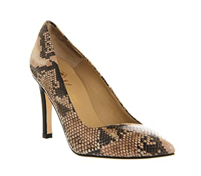 9a7658a306 Poste Mistress Lorretta Court Snake Leather - 6 UK  Amazon.co.uk  Shoes    Bags