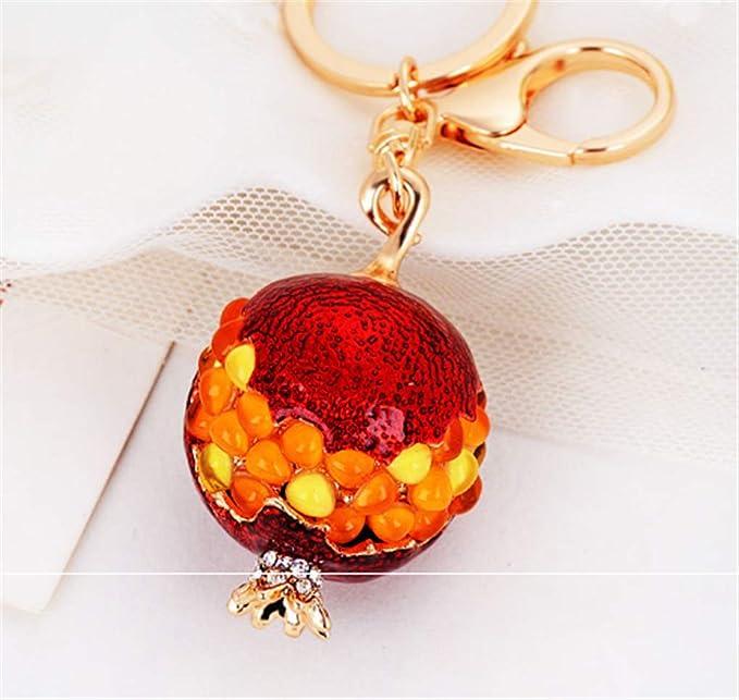 Amazon.com: IBESTARS - Llavero con colgante de fruta y ...