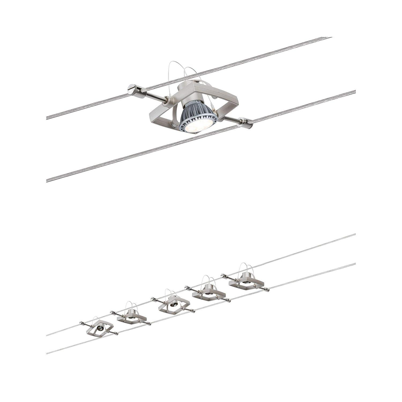 1000 x 0,5 x 16,5 cm Paulmann Set 94134/Cuerda System Mac II Blanco con 5/focos GU5.3
