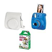 Kit Câmera instantânea Fujifilm Instax Mini 9 c/ Bolsa e Filme 10 poses