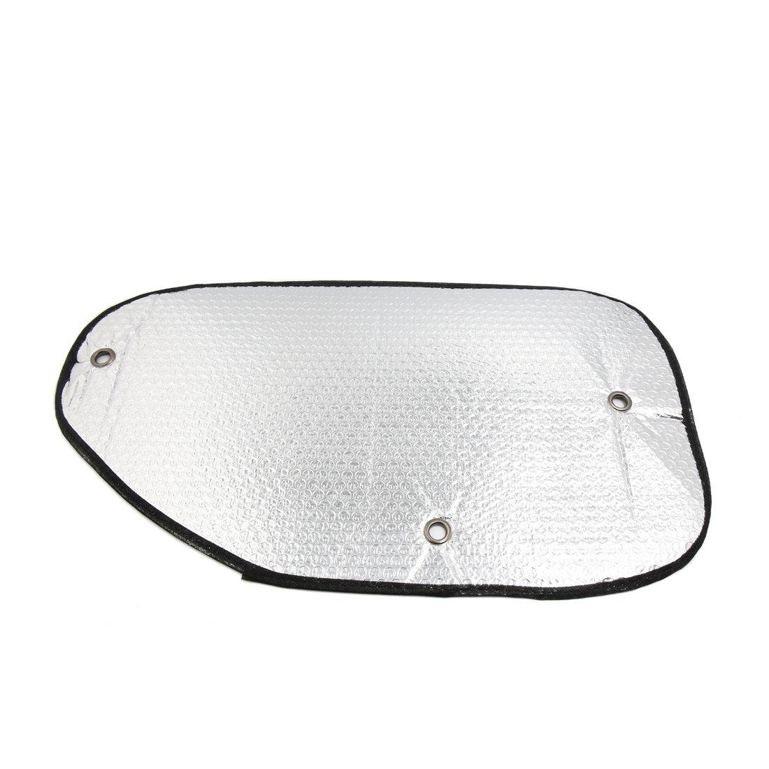 sourcingmap/® 2 pz un foglio alluminio lato finestrino posteriore pantina parasole protezione coperchio per Auto Auto