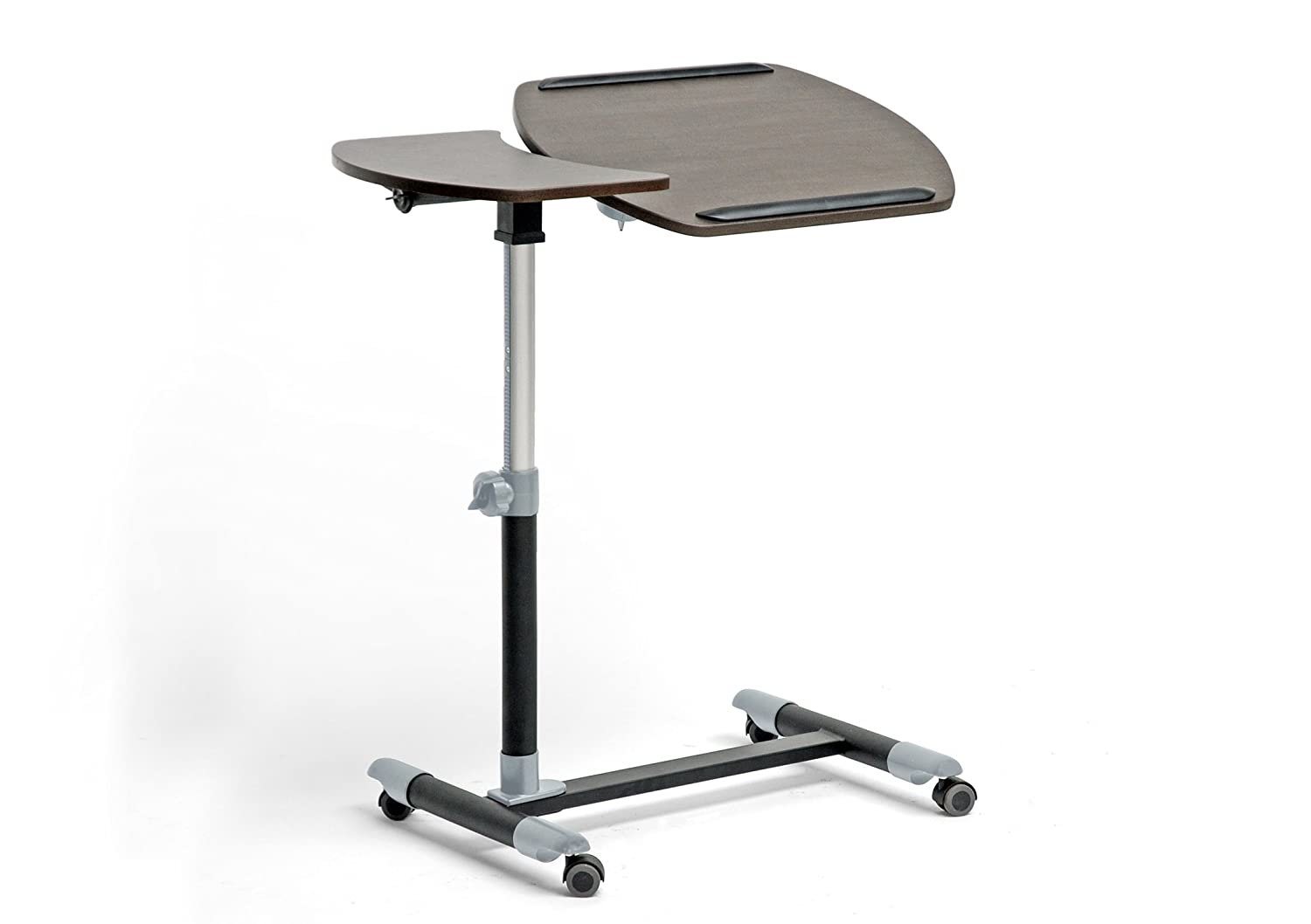 Amazon.com: Baxton Studio Wheeled Laptop Tray Table With Tilt Control,  Olsen Brown: Kitchen U0026 Dining