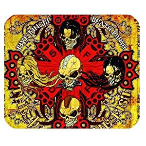 Five Finger Death Punch CD Cover Mousing Surface Mousepad Mouse Pads Funny Mouse Pad