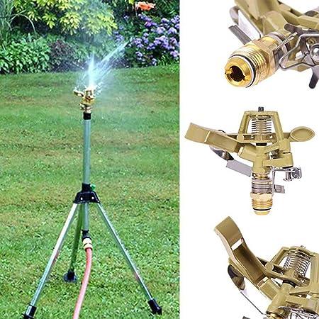 Chengl Pulgadas de Cobre rotativo Boquilla de Spray Conector Rocker jardín riego Sistema de riego Jardín Herramientas Productos sin trípode: Amazon.es: Hogar