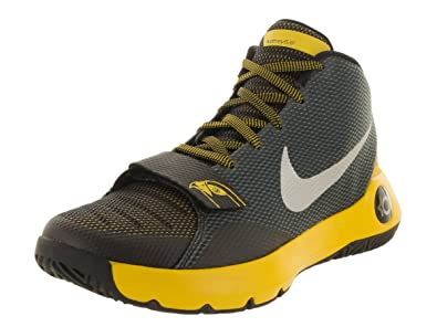 NIKE Nike Men KD Trey 5 III Basketball Shoe Black Metallic Silver tr Yellow Online
