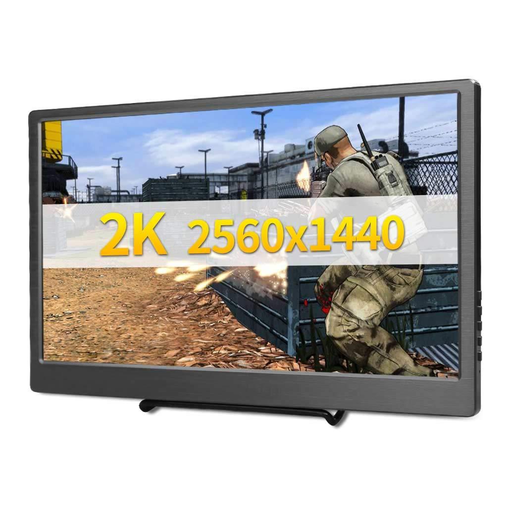 Monitor Portatil Usb 13.3 2560x1440 Ips Hdmi Johnwill