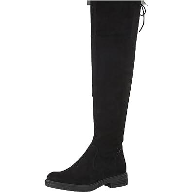 Tamaris Damen Overknee Stiefel 25506-21,Frauen  Overknee-Boots,Lederstiefel,Flacher 949c50753c