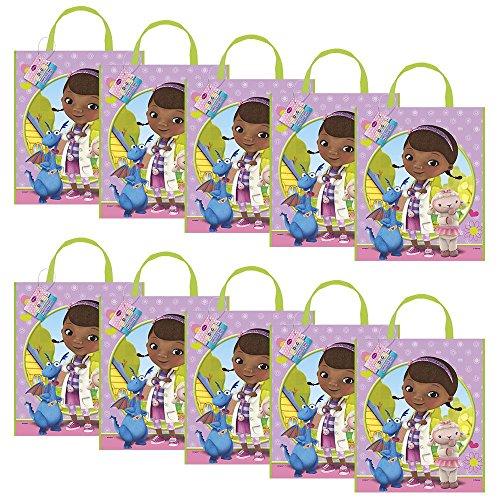 Doc Mcstuffins Party Tote Bag (Set of 10) ()