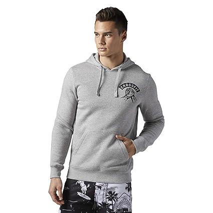 Reebok CF High Five Pull Over Sweat Shirt à Capuche Homme