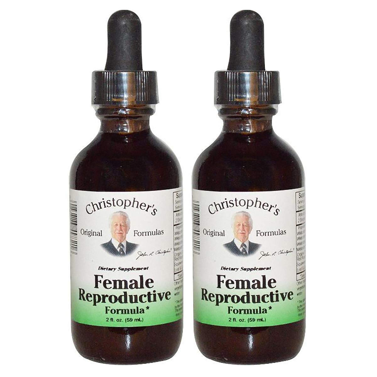 Christopher's Original Formulas Female Reproductive Extract 2 fl. oz. 2 Pack