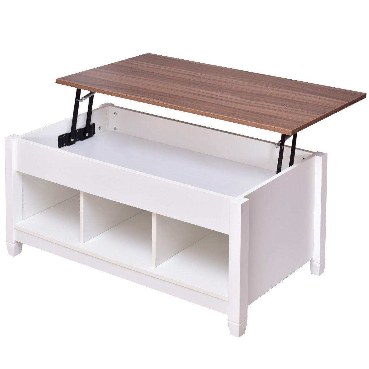 Amazon.com: Tangkula Lift Top Coffee Table Modern Living ...