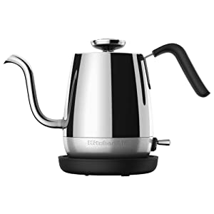KitchenAid KEK1025SS Precision Gooseneck Electric Kettle, 1 Liter, Stainless Steel