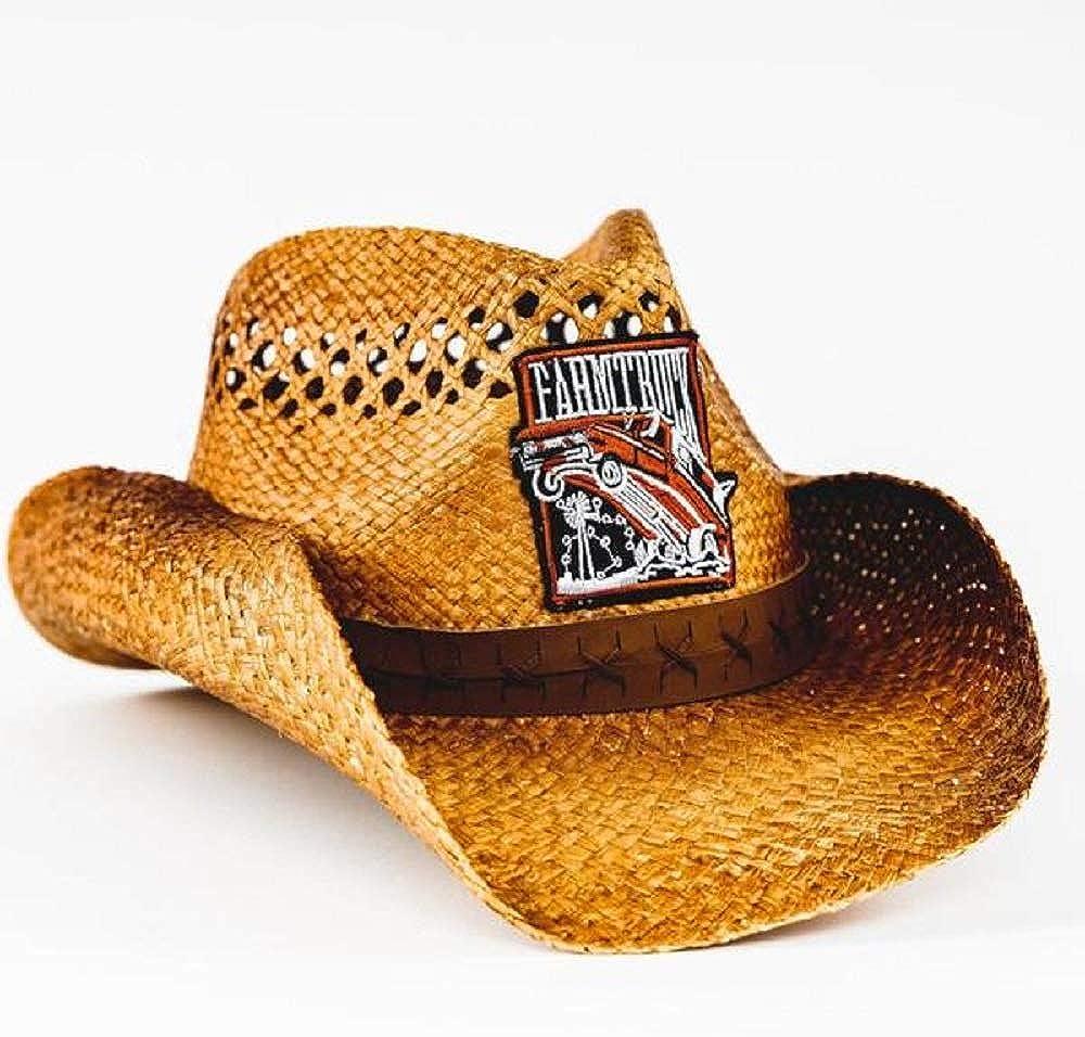 Street Outlaws Black w// Orange 405 Hat Farmtruck and Azn
