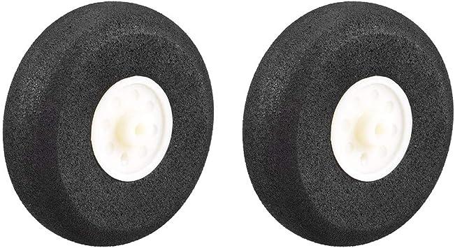 2pcs Model Plane Foam Sponge Wheels 30mm RC Model Wheels