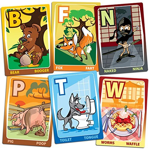 ABC Flash Cards - He's All Boy Alpha Cards - for toddlers and preschool-Alphabet/First Words & Fun