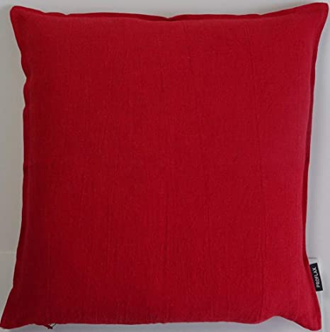 Proflax Sven - Funda de cojín (40 x 40 cm), Color Rojo ...