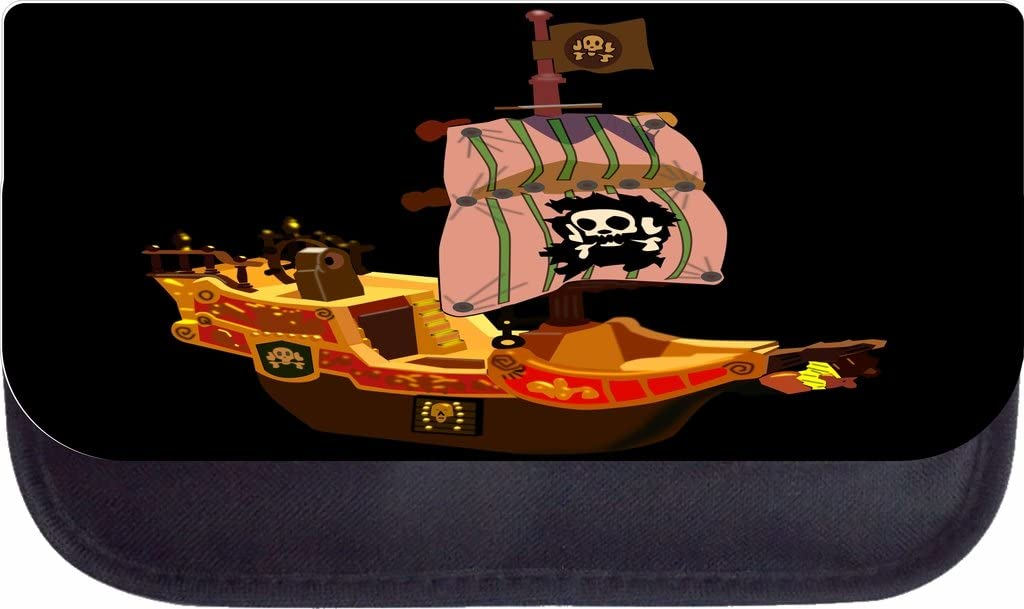 Pirate Ship Rosie Parker Inc TM School Backpack and Pencil Case Set