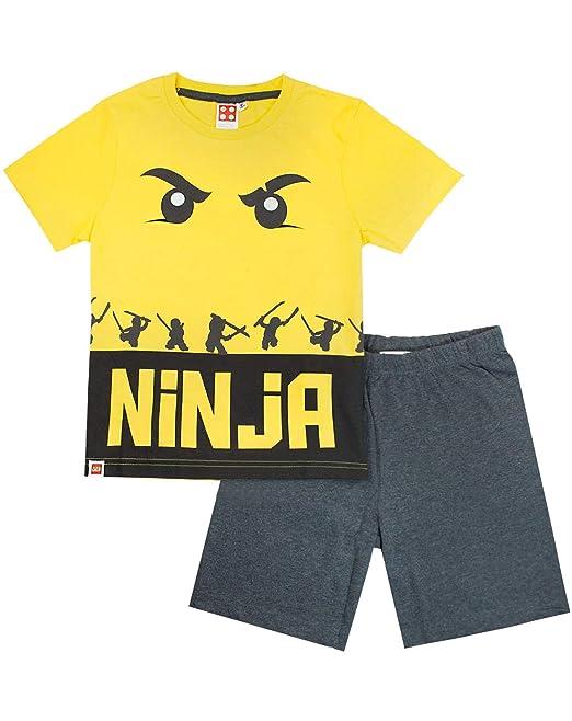 LEGO Ninjago Ninja Boys Pyjamas: Amazon.es: Ropa y accesorios