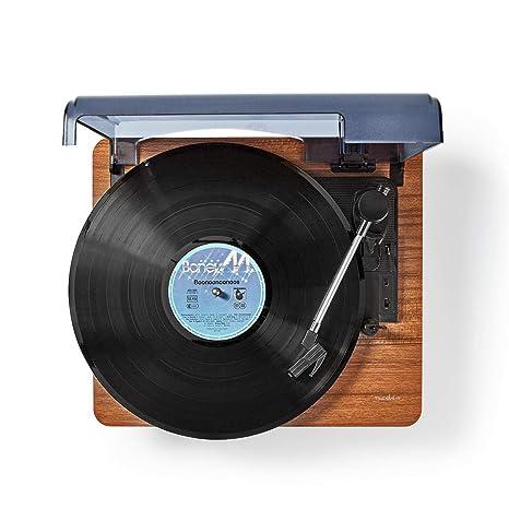 TronicXL - Tocadiscos con Bluetooth, Aux, Retro, Conector Jack de ...