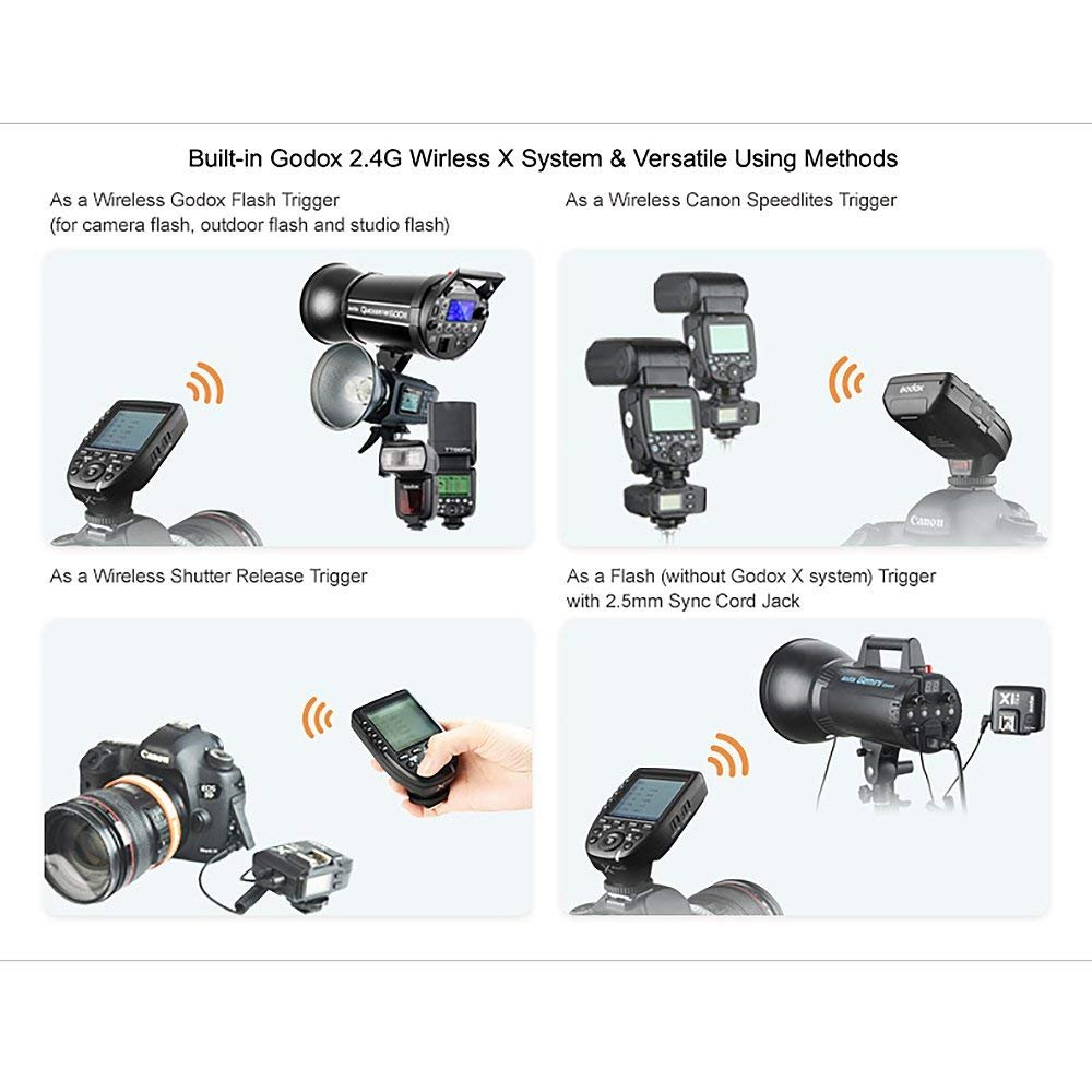 1//8000s HSS 5 Dedicated Group Buttons TTL-Convert-Manual Function Godox Xpro-N TTL Wireless Flash Trigger Transmitter for Nikon 11 Customizable Functions with PERGEAR Cleaning Kit Large Screen