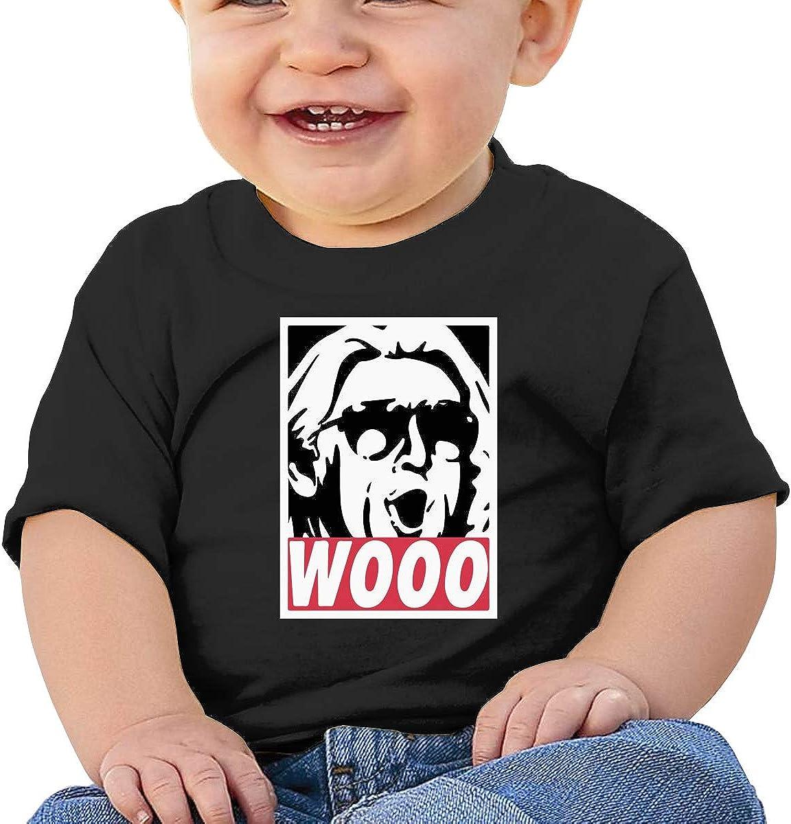 HAOHIYO Baby Wooo-Wrestling Shirts Toddler Cotton Tee