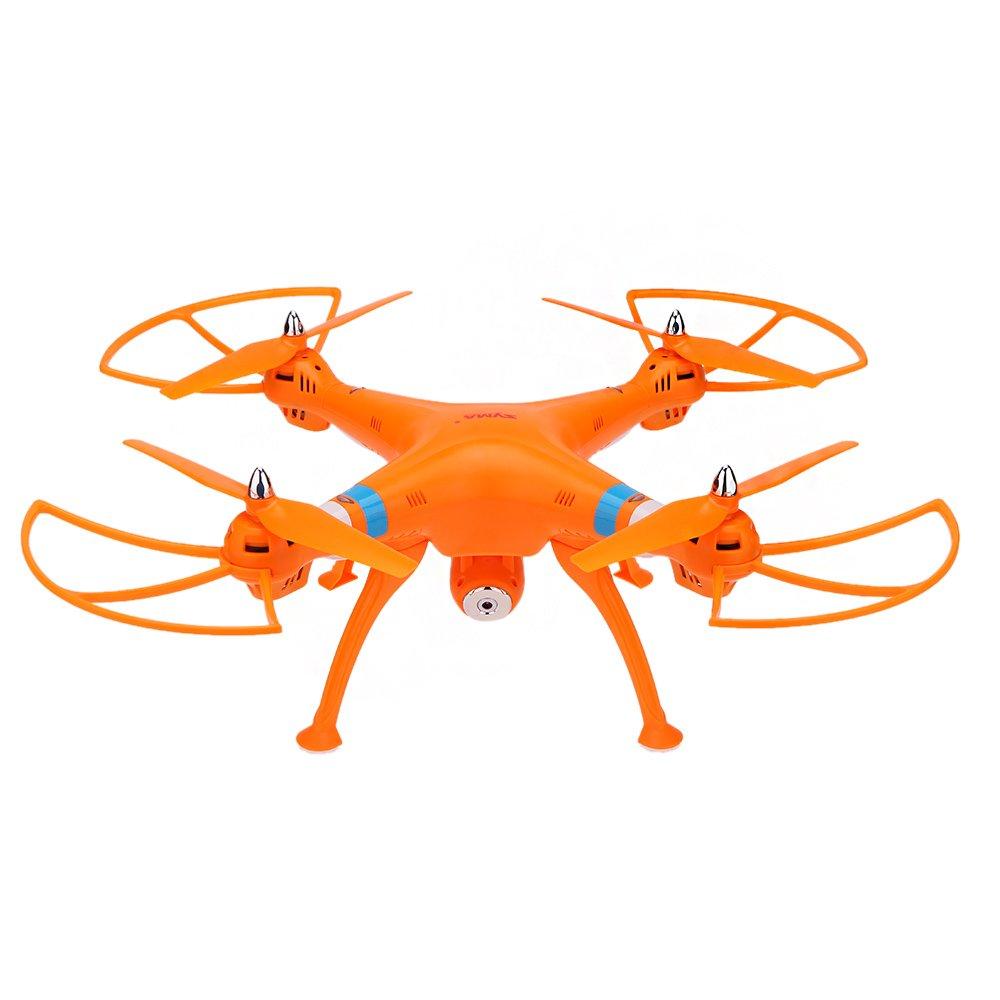 Goolsky SYMA X8C 2.4G 4CH 6-Eje Gyro R / C Quadcopter RTF Drone con 2.0MP HD Modo de Velocidad de La Cámara Modo sin Cabeza y 3D Eversion