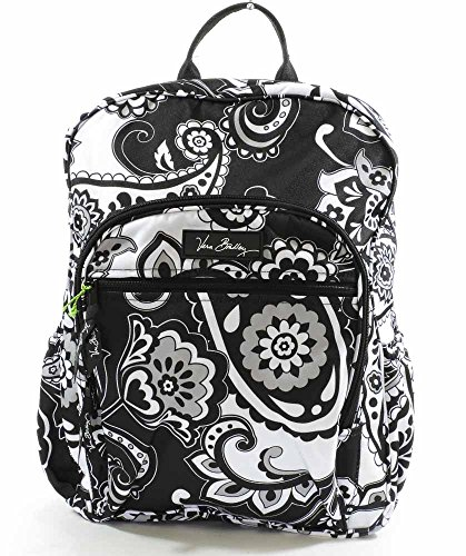 Vera Bradley Womens Lighten Up Campus Backpack,Midnight Paisley