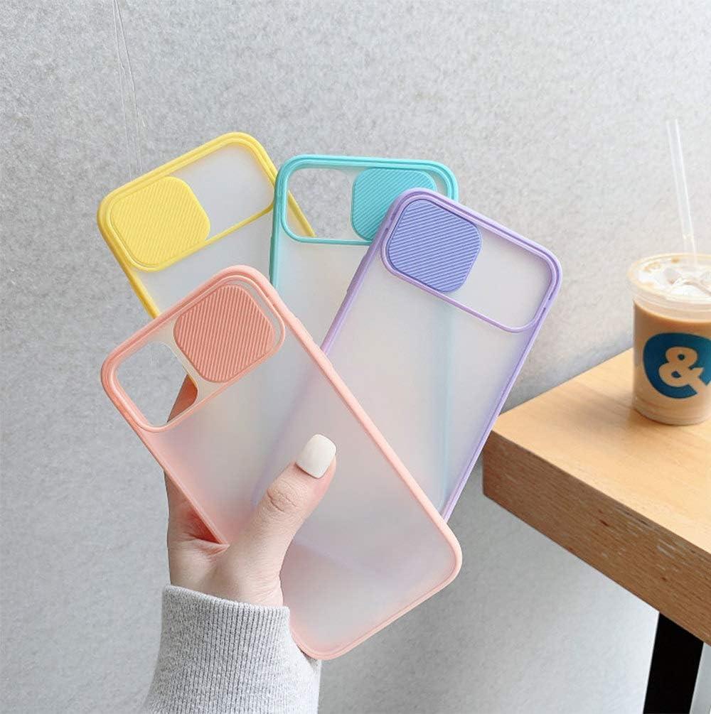 Funda transparente con ventana para Apple 11 X Series amarillo, iPhone 11 Pro Max