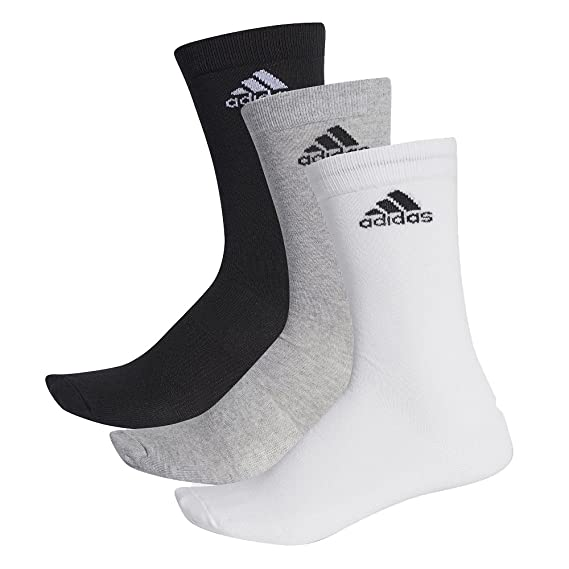 Lot de 3 paires chaussettes 'Adidas' Homme noirgrisblanc