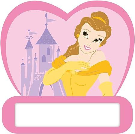 Plaque de porte princesses