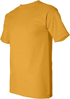 product image for Bayside Adult Short-Sleeve Cotton Tee - Gold - 2XL