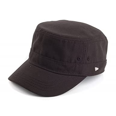 f3ed28ff6d9 New Era EK Delux Army Cap - Black Black Medium - 58cm  Amazon.co.uk   Clothing