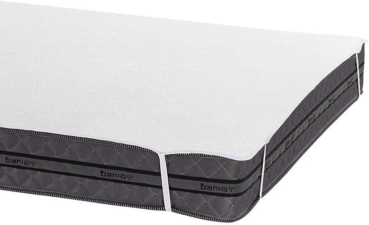 Bedecor Protector de colchón,100% algodón Impermeable,Transpirable 150 x 190/200 cm: Amazon.es: Hogar