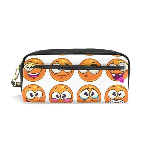 coosun naranja Ronda de dibujos animados caracteres Emoji ...